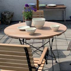 Gartentisch rund, 100 cm Durchmesser Thumbnail