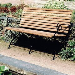 Gartenbank, Dreisitzer Thumbnail