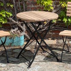 Gartentisch rund, 65cm Durchmesser Thumbnail